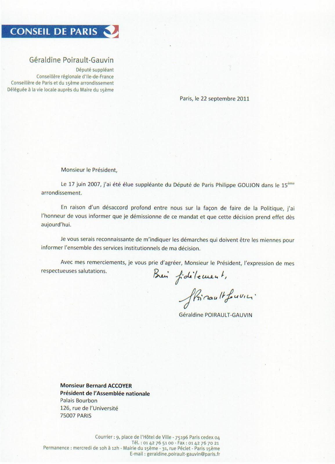 ecrire une lettre de demission Comment rédiger une lettre de démission ? ecrire une lettre de demission